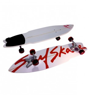 premiere red surfskate