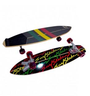 Stunner Rasta SurfSkate