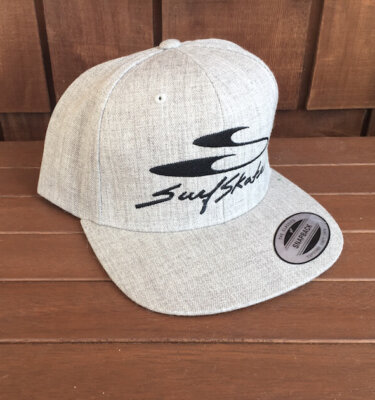 Grey Snap Back SurfSkate Industries