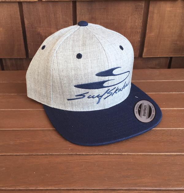 Navy/Grey snapback