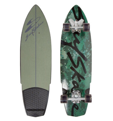 Hybrid Camo Swell Tech SurfSkate